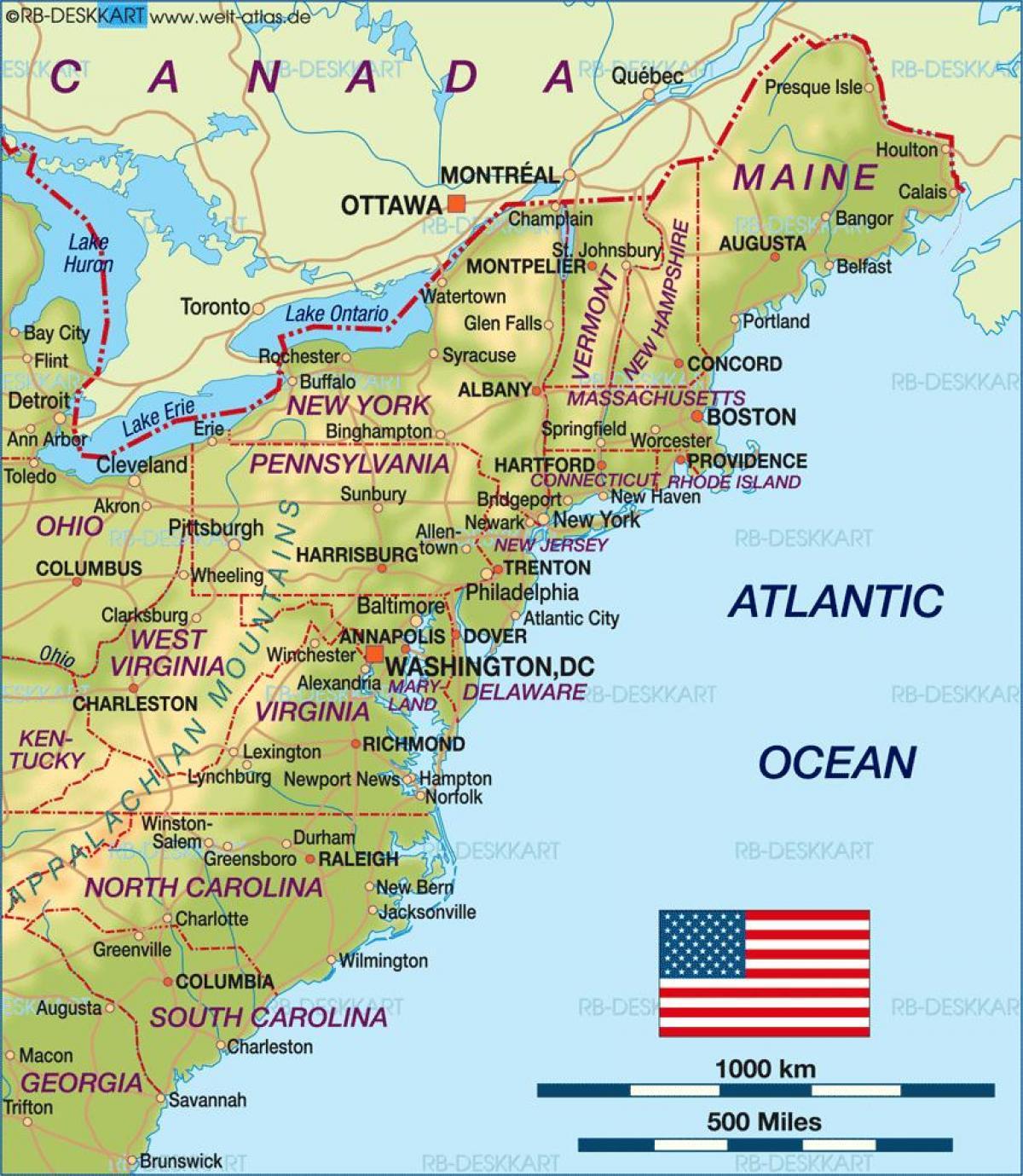 amerika keleti part térkép A keleti part MAGYARORSZÁG térkép   térkép keleti part (Észak  amerika keleti part térkép